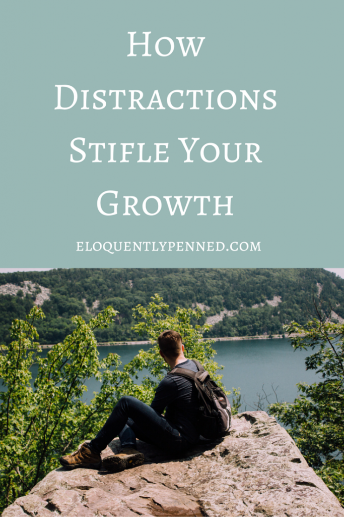 How Distractions Stifle Your Growth